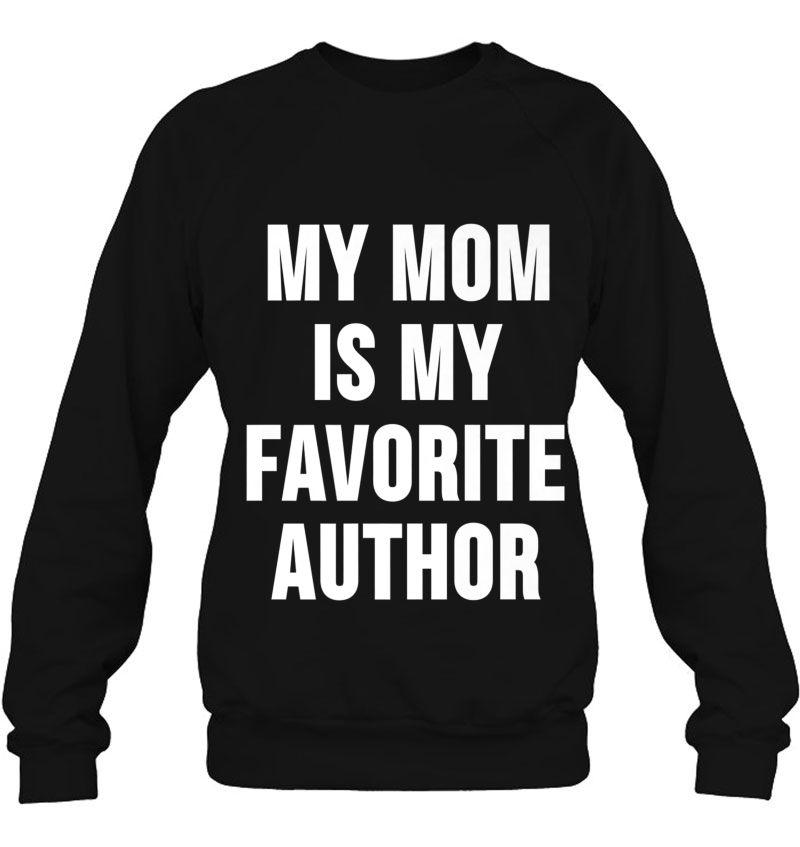 My Mom Is My Favorite Author Mugs