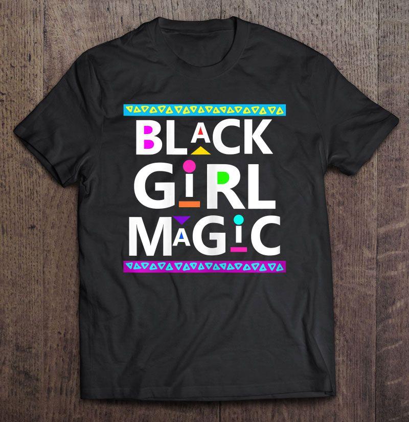 Black Girl Magic Dashiki Style Version Shirt
