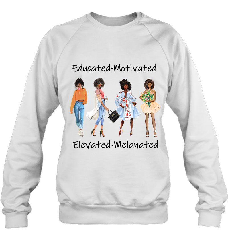Educated Motivated Elevated Melanated Mugs