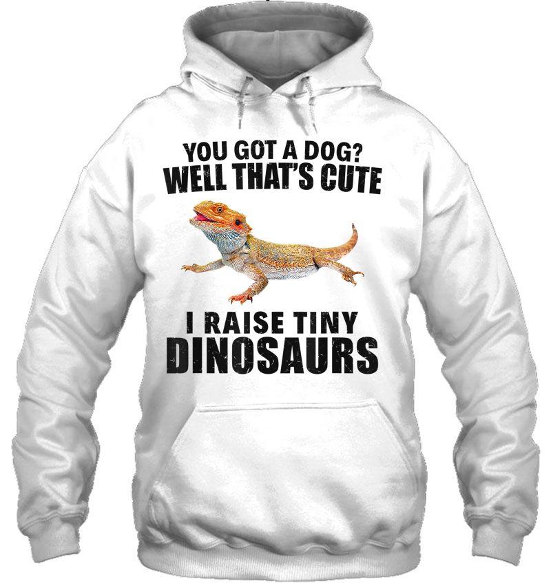 You Got A Dog I Raise Tiny Dinosaurs White Version Mugs