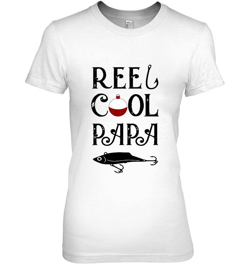 Reel Cool Papa Fishing Dad Hoodie