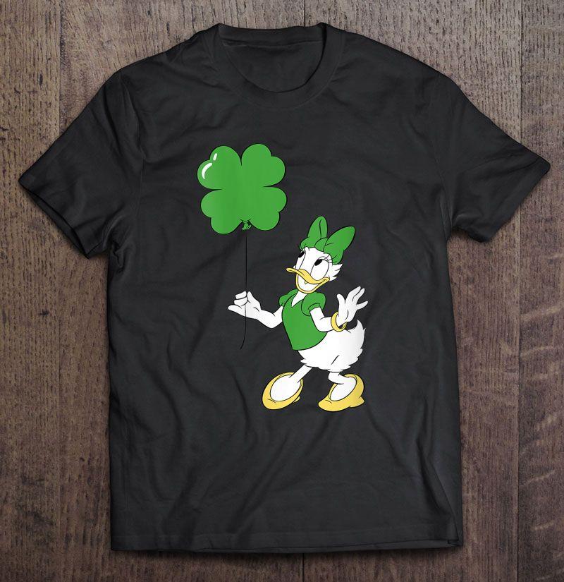 Disney Daisy Duck Shamrock Balloon St. Patrick's Day Shirt