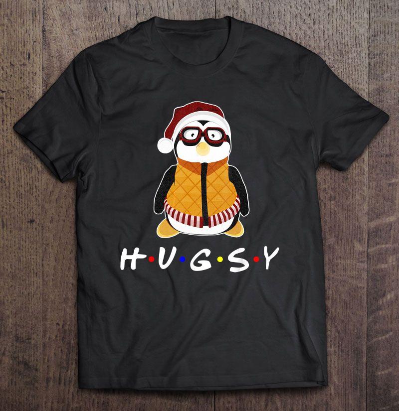 Hugsy Penguin Santa Friends Shirt