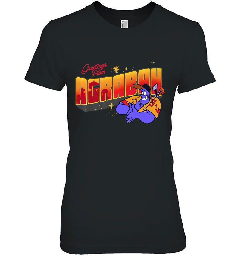 Greetings From Agrabah Disney Aladdin Genie Version Hoodie