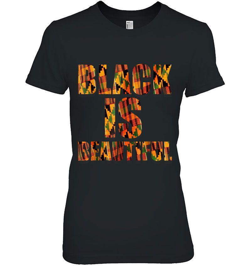 Black Is Beautiful Kente Version Hoodie
