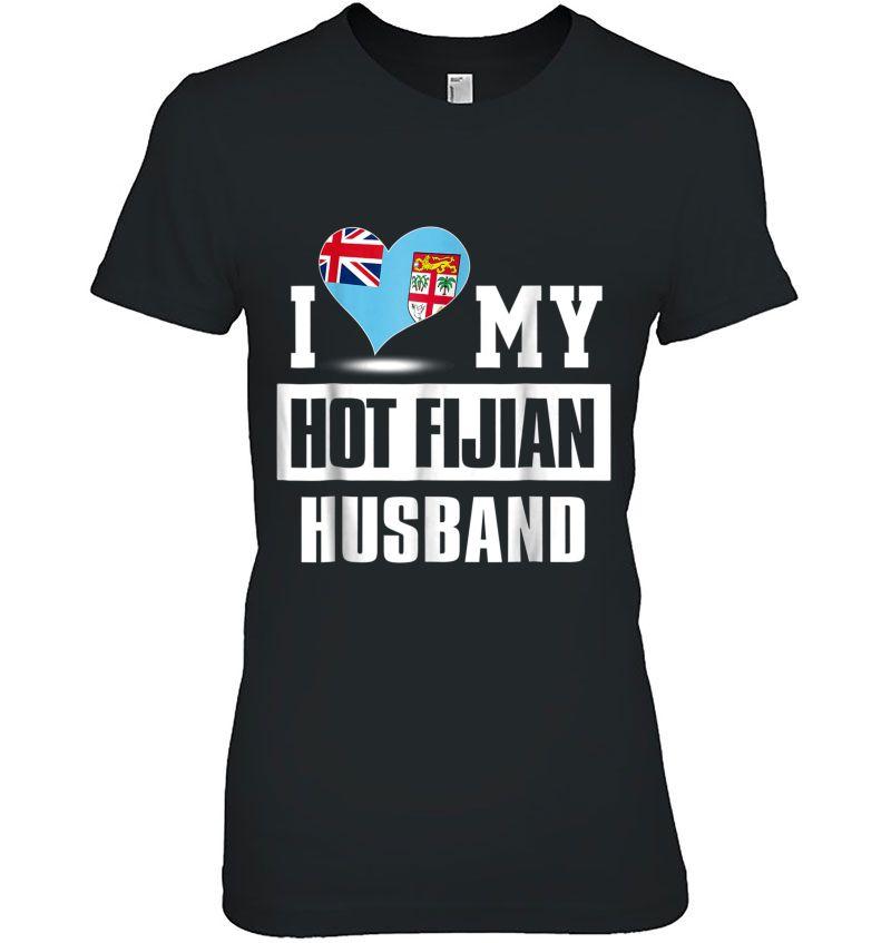 I Love Heart Fiji Ladies T-Shirt