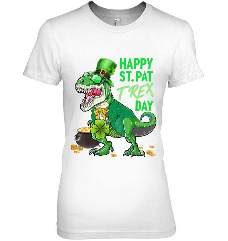 Dinosaur Shirt T-Rex Shirt T-Rex Shirt, Dinosaur St Happy St Patrick/'s Day Shirt Pat-REX Day Boys Dinosaur Tee St Pat-REX Day Shirt