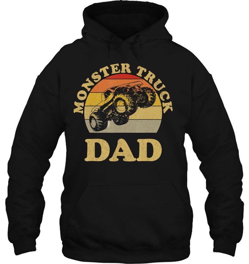 Monster Truck Dad Vintage Version Mugs