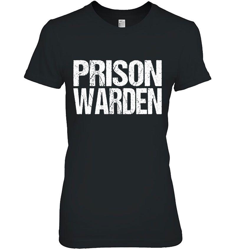 Prison Warden Grunge Version Hoodie