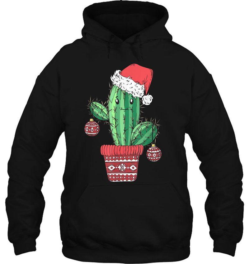 Cactus Santa Xmas Mugs