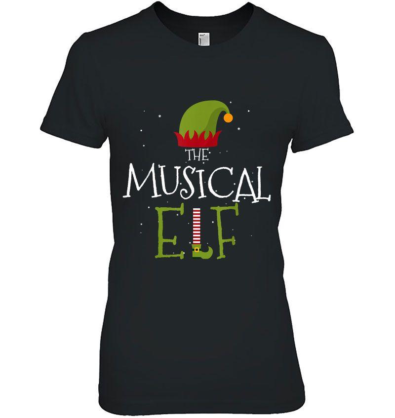 I'm The Musical Elf Christmas Hoodie
