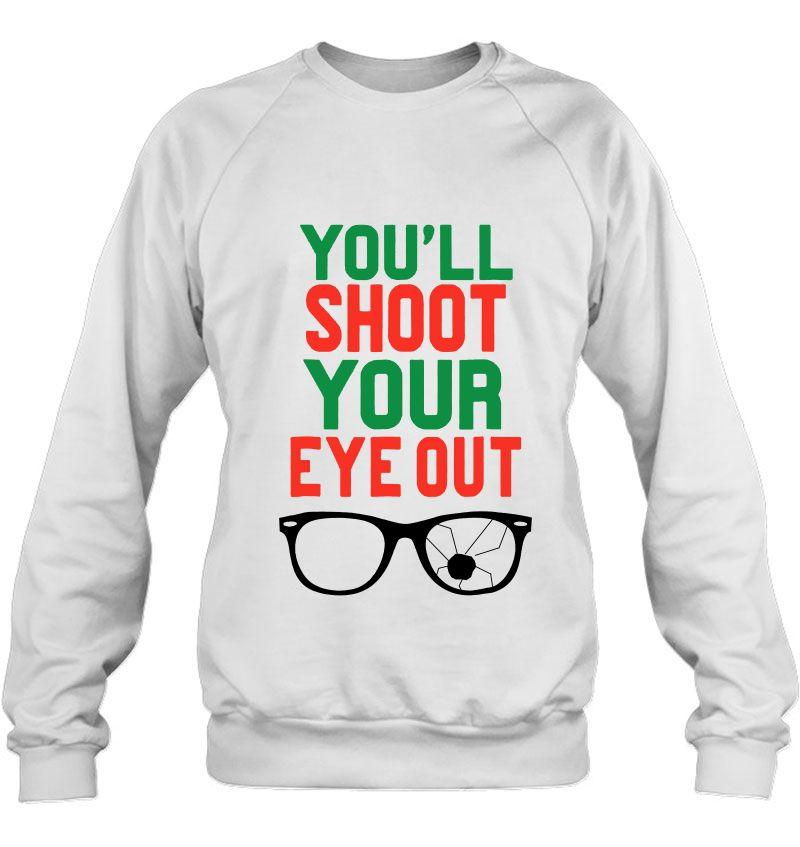 You'll Shoot Your Eye Out Christmas Story Mugs