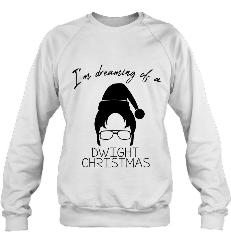 I'm Dreaming Of A Dwight Christmas Holiday Mugs
