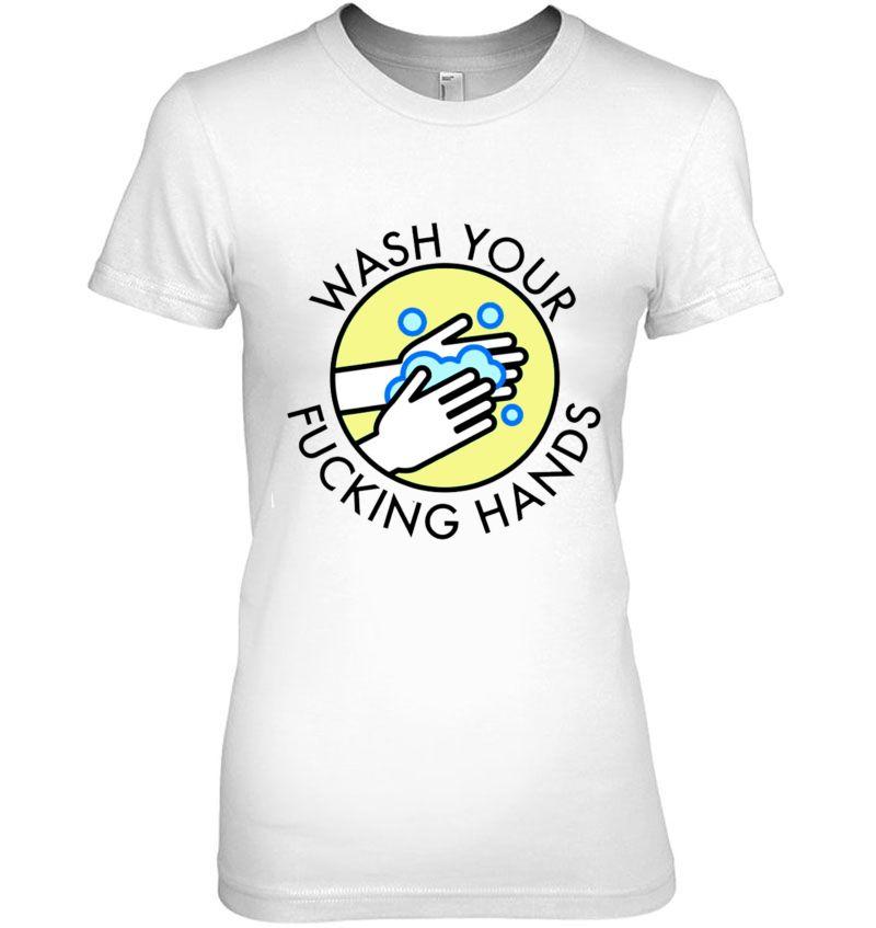 Wash Your Hands No Virus Hoodie