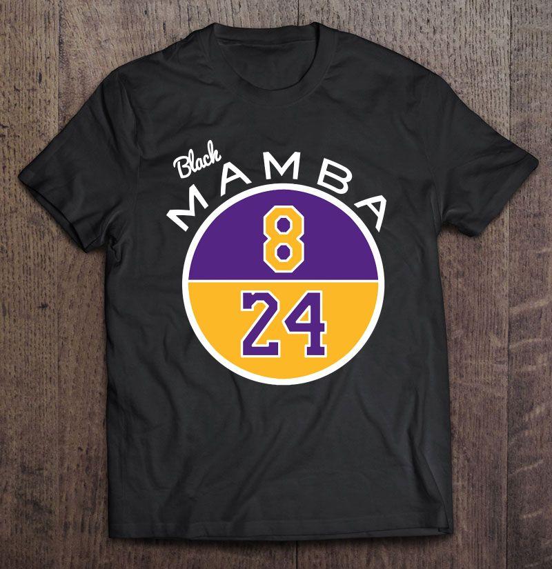 Kobe Bryant Hoodie Goat Black Mamba 8 24 Logo La Lakers Sweatshirt Size S-3Xl