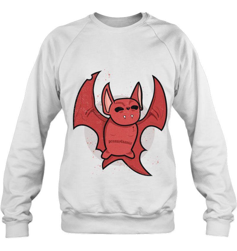 red bad bat Mugs