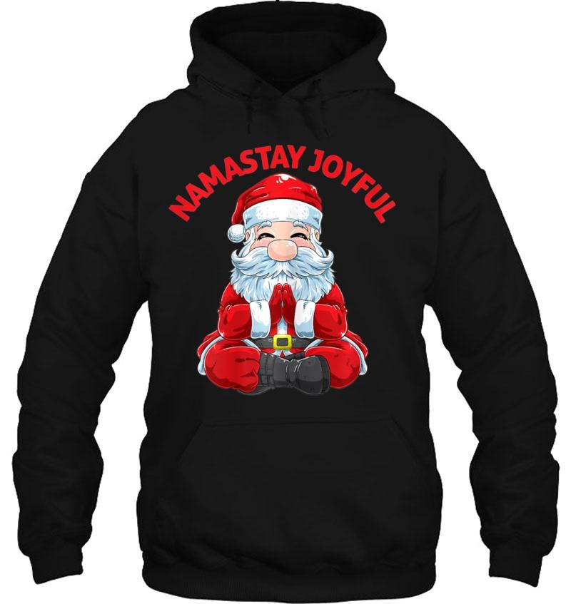 Funny Meditating Namaste Santa Christmas Yoga Mugs