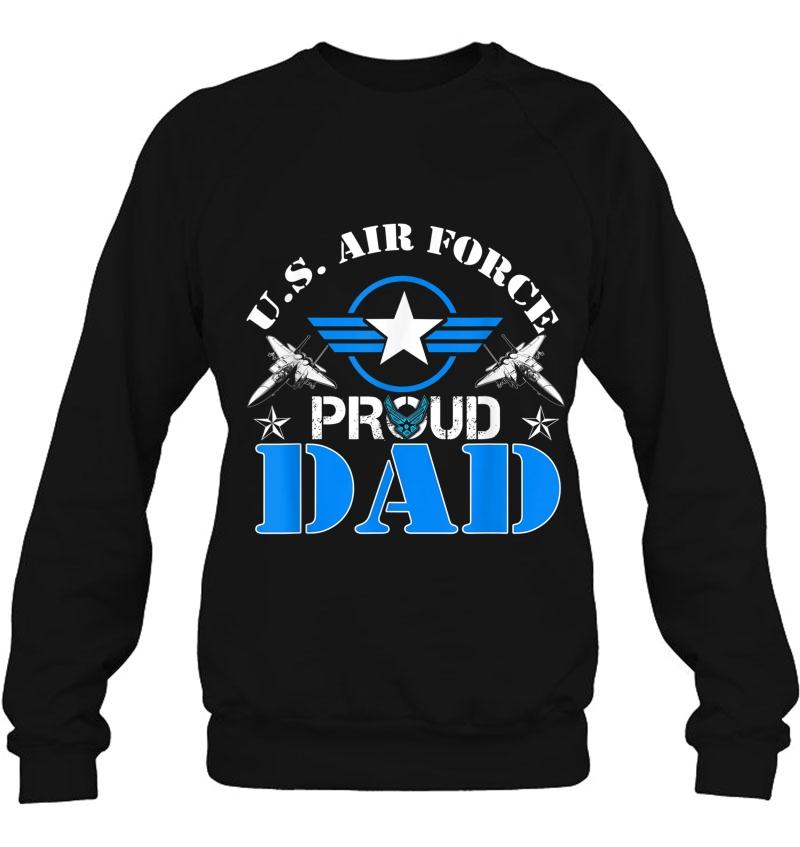 Proud Dad Us Air Force Shirt - Usaf Veteran Gift Mugs