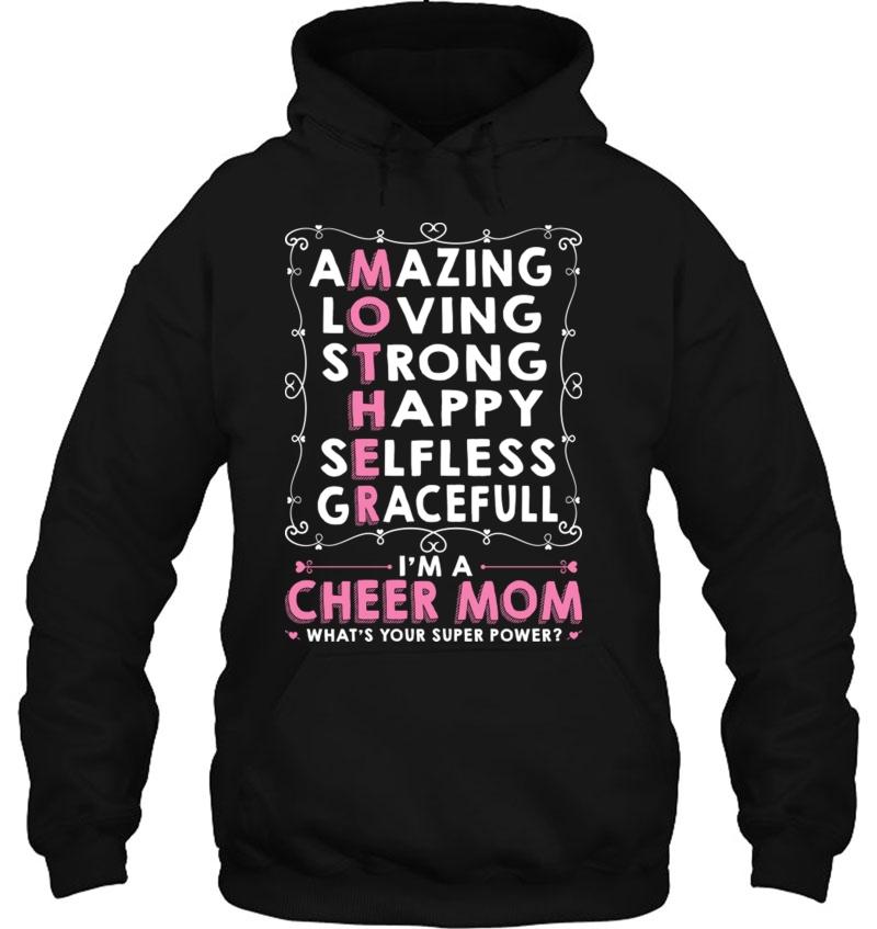 Cheer Mom Mother&39;S Day Tee Mugs