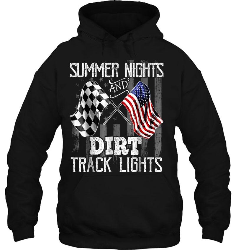 Summer Nights Dirt Track Lights Racing Motocross Mugs