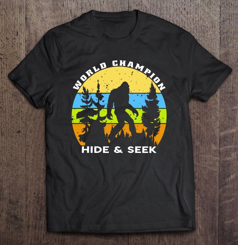 Bigfoot Hide and Seek Champion
