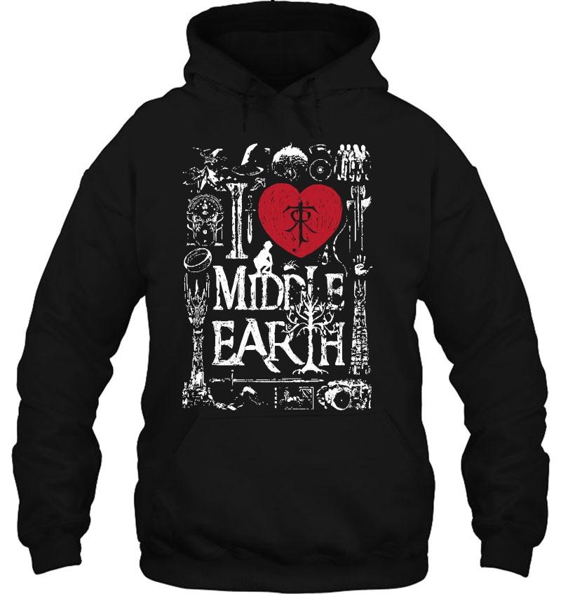 I Love Middle Earth Mugs