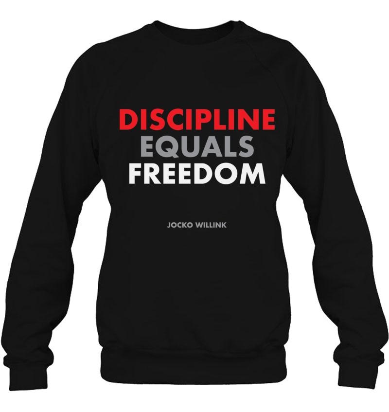 """Discipline Equals Freedom"" Jocko Willink Classic Trending Design Shirt"