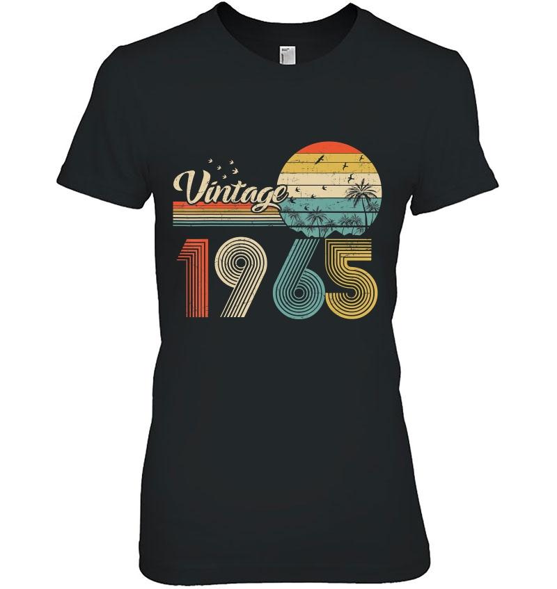 Vintage 1965 Design 55 Years Old 55Th Birthday For Men Women Hoodie