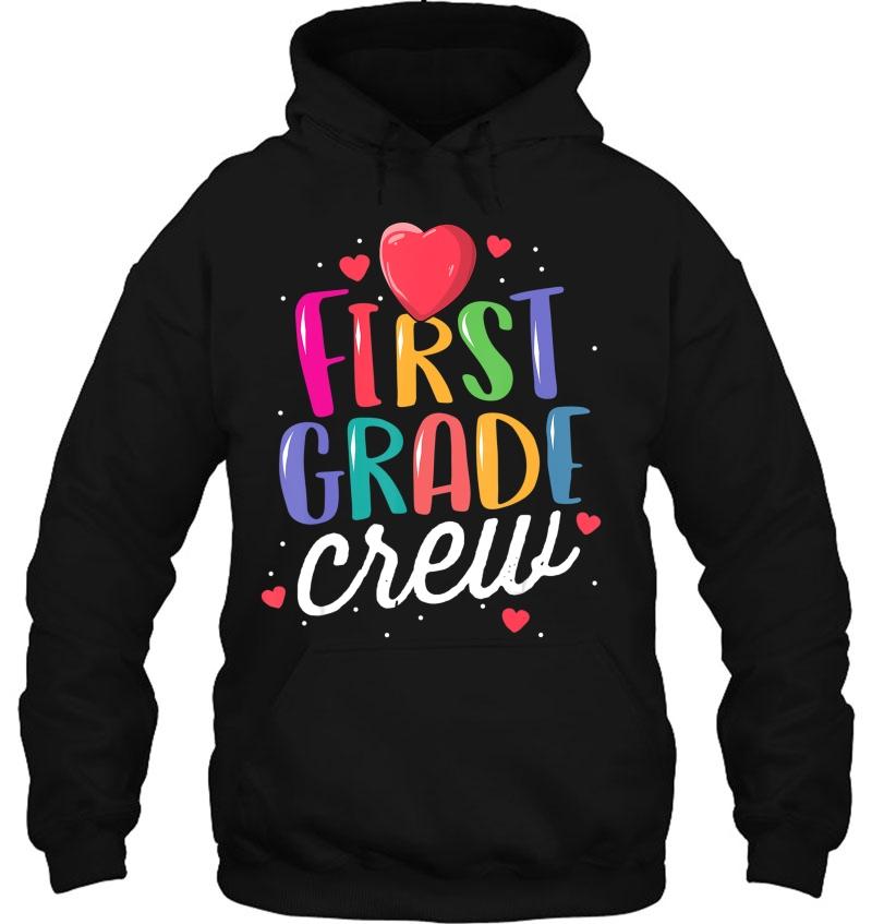 First Grade Crew Back To School Teacher 1St Team Rainbow Mugs