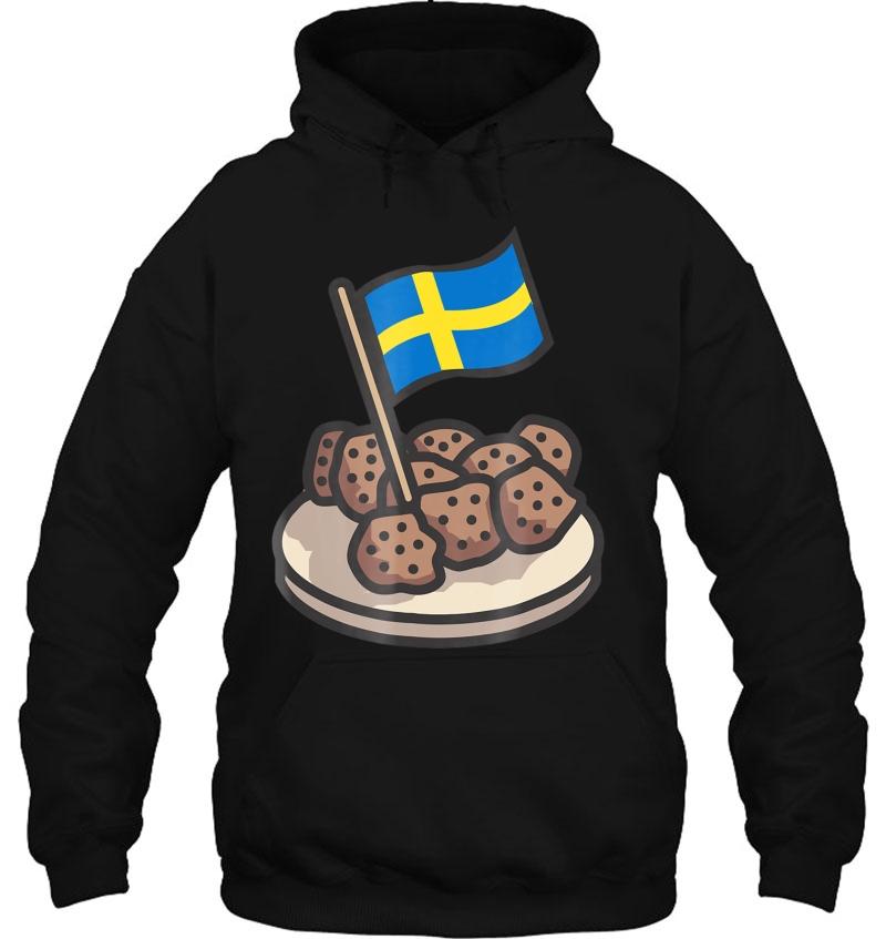 Swedish Flag Funny Swedish Meatballs