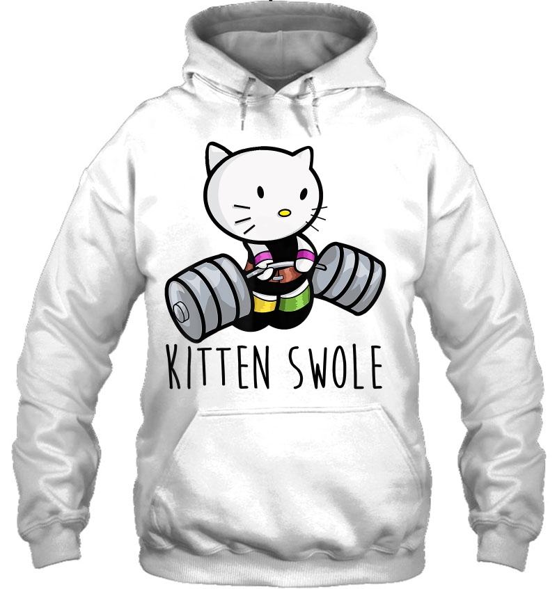Kitten Swole Cat Powerlifting Weightlifting Gym Mugs