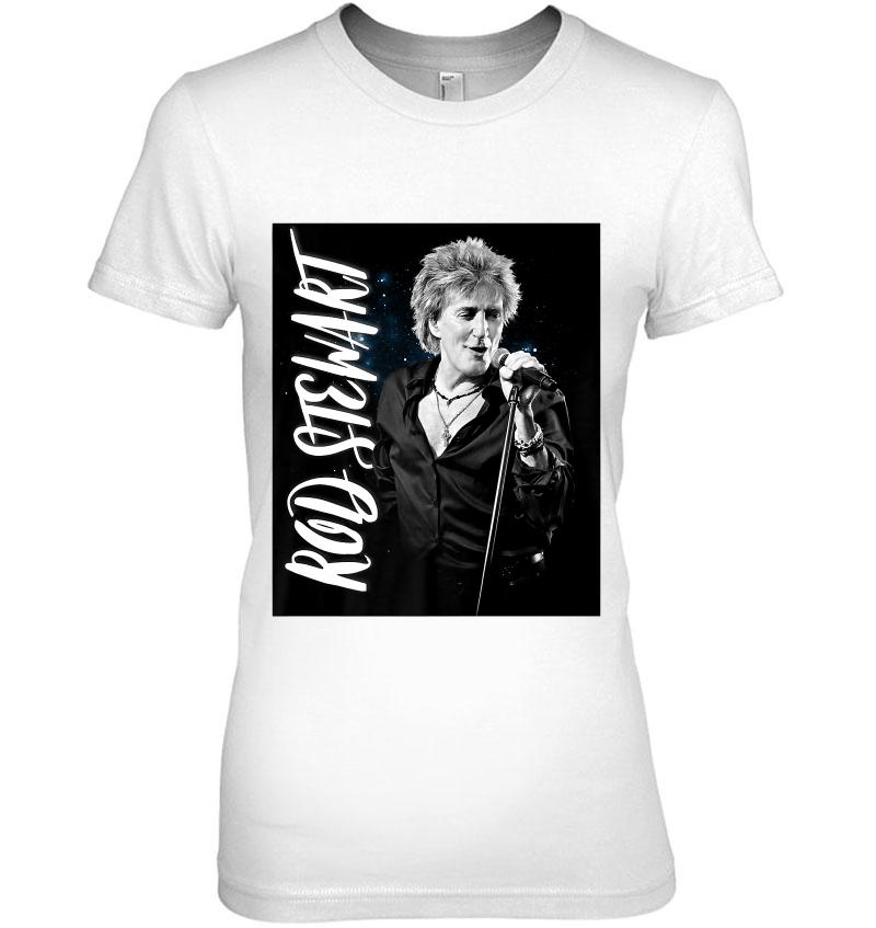Rod Stewart ADMAT Official Unisex Black T-Shirt