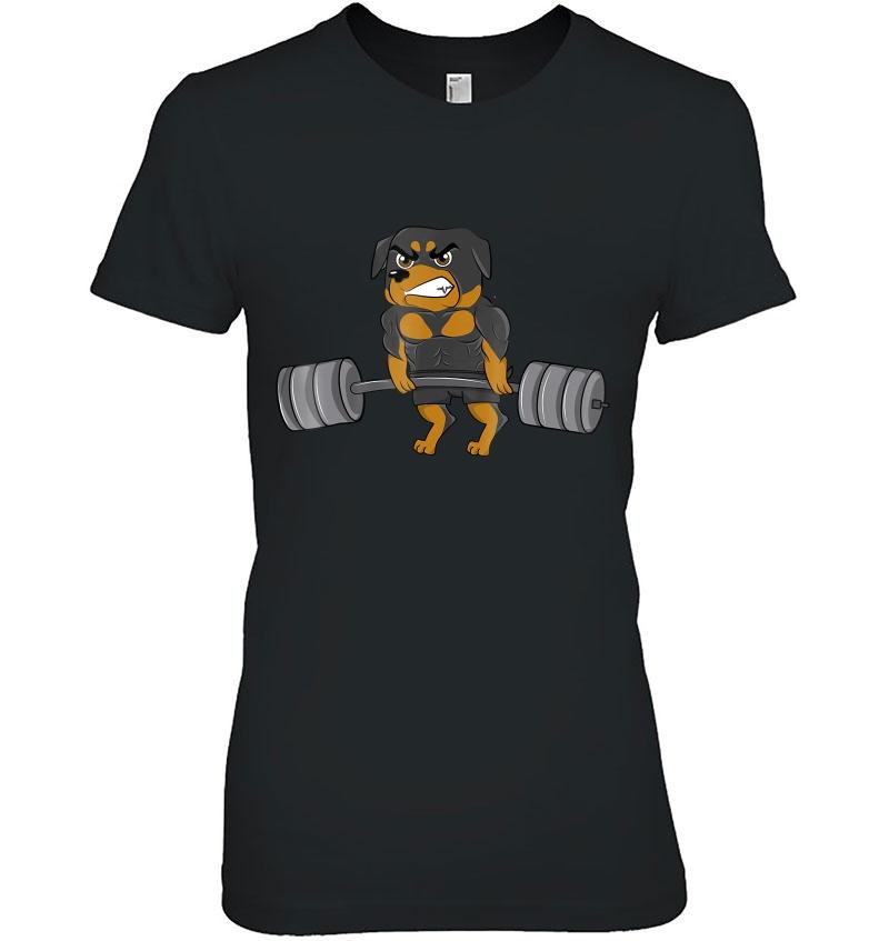 Rottweiler Weightlifting Bodybuilding Hoodie
