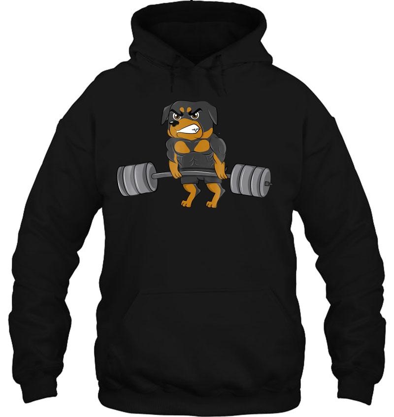 Rottweiler Weightlifting Bodybuilding Mugs