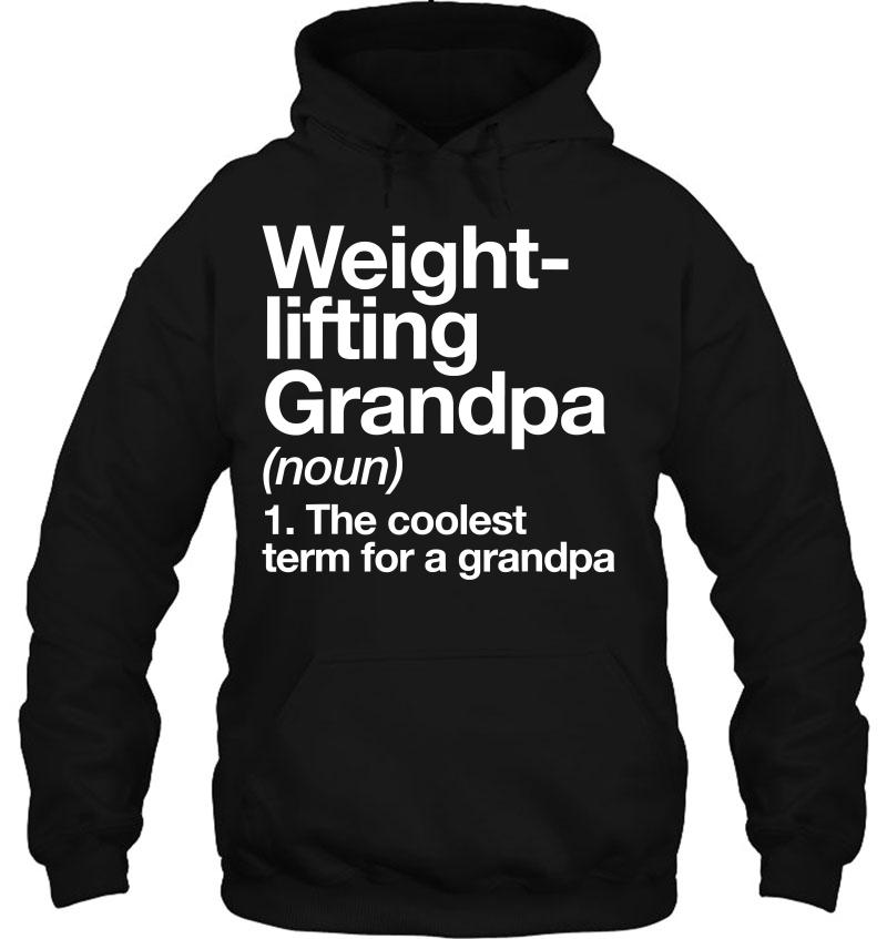 Weightlifting Grandpa Definition Funny Sports Mugs