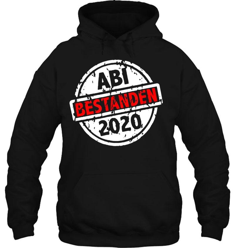 Bestanden Stempel Abi Geschenk Pullover Hoodie Abitur 2020 Schulabschluss