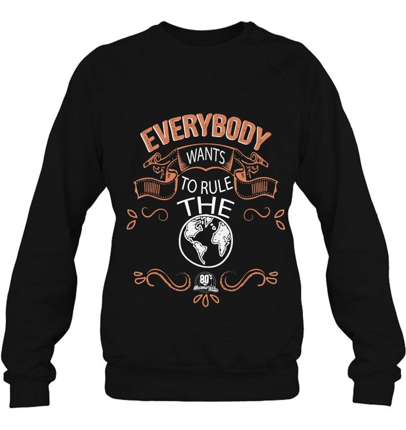 Everybody Wants To Rule The World Mugs