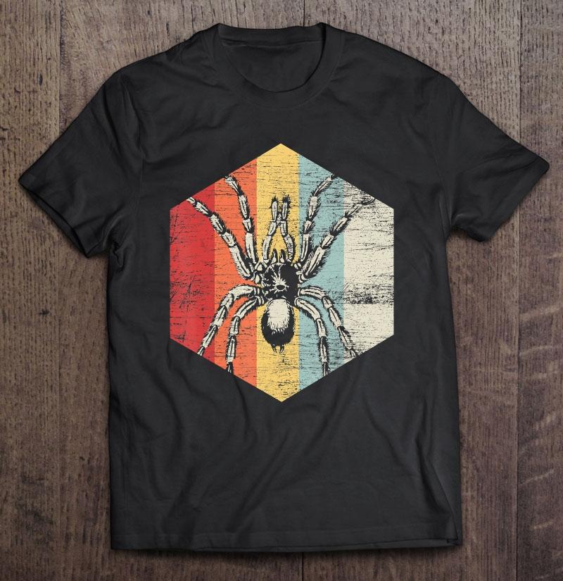Scary Spider Halloween Gift Idea Tarantula Shirt