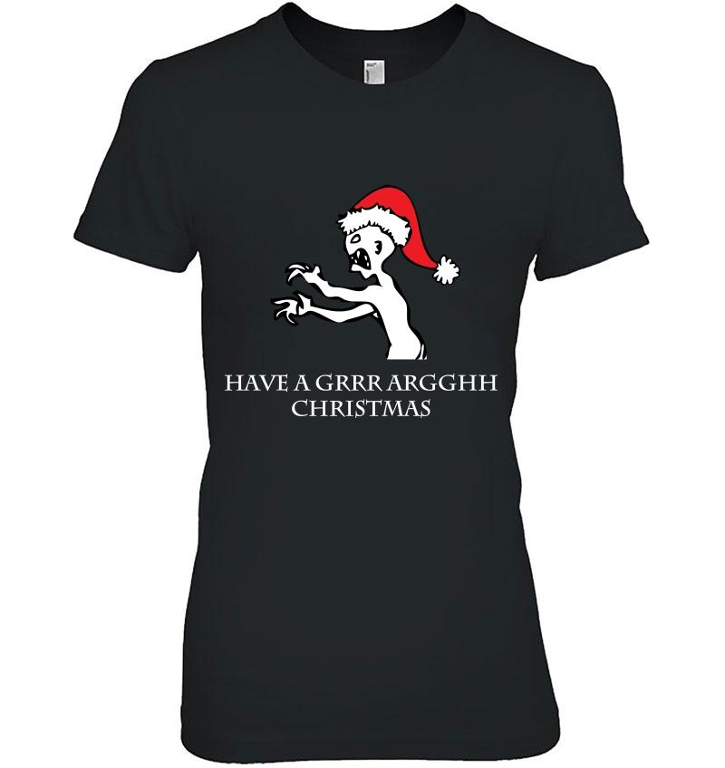 Grr Argh Christmas Hoodie