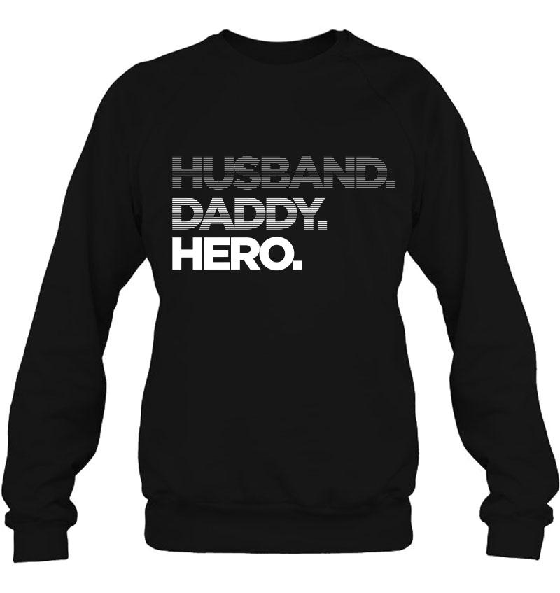 Husband Daddy Hero Fade Mugs