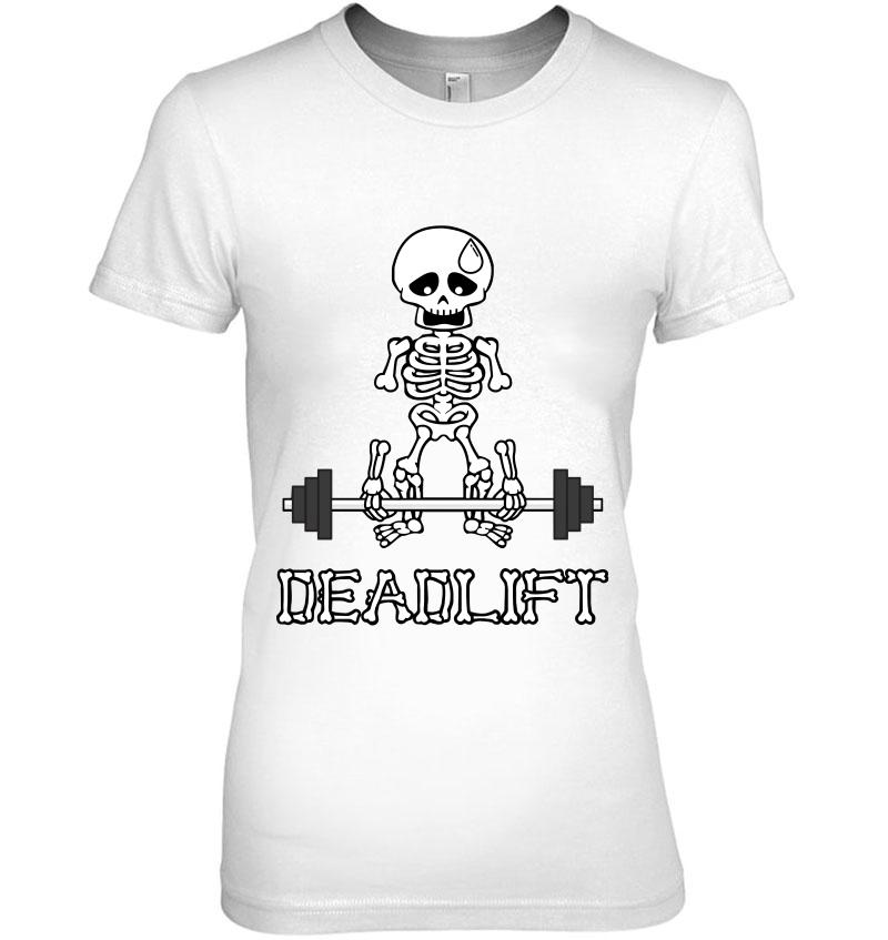 Deadlift Gym Skeleton Hoodie