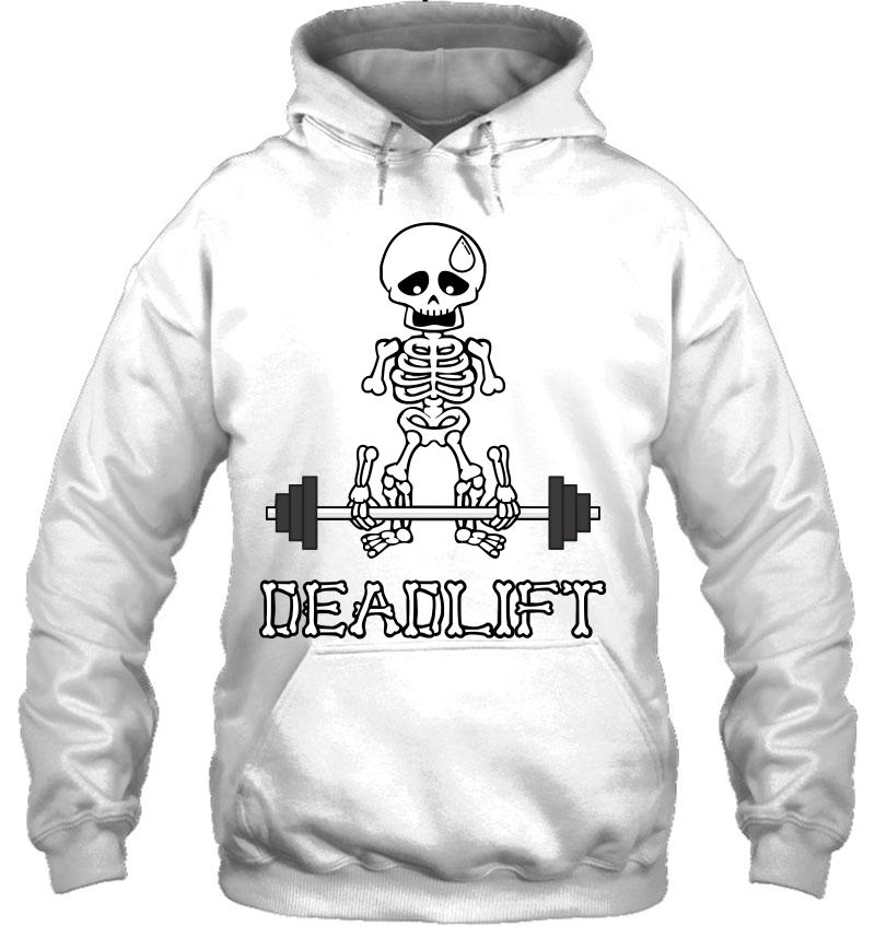 Deadlift Gym Skeleton Mugs