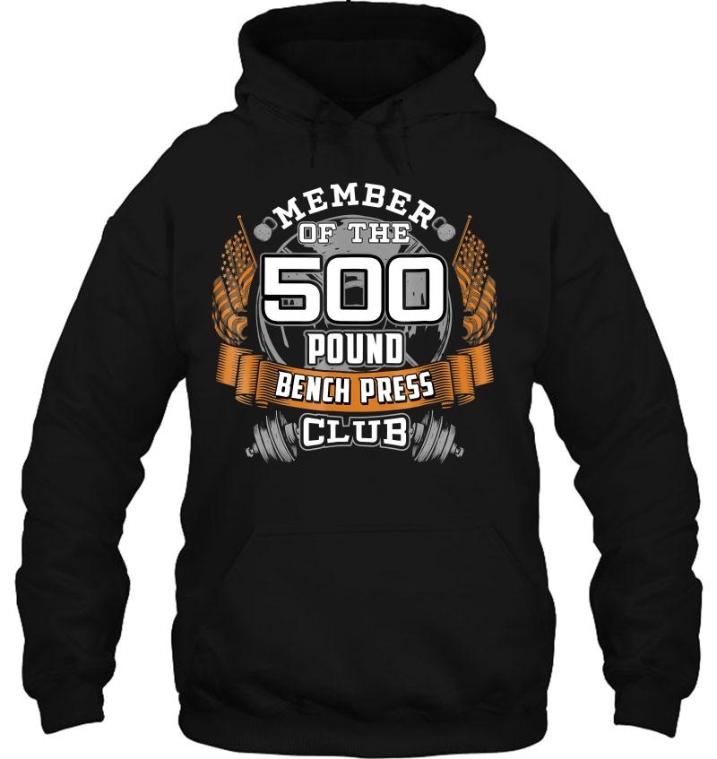 500 Pound Bench Press Shirt Bodybuilder Weightlifting Mugs