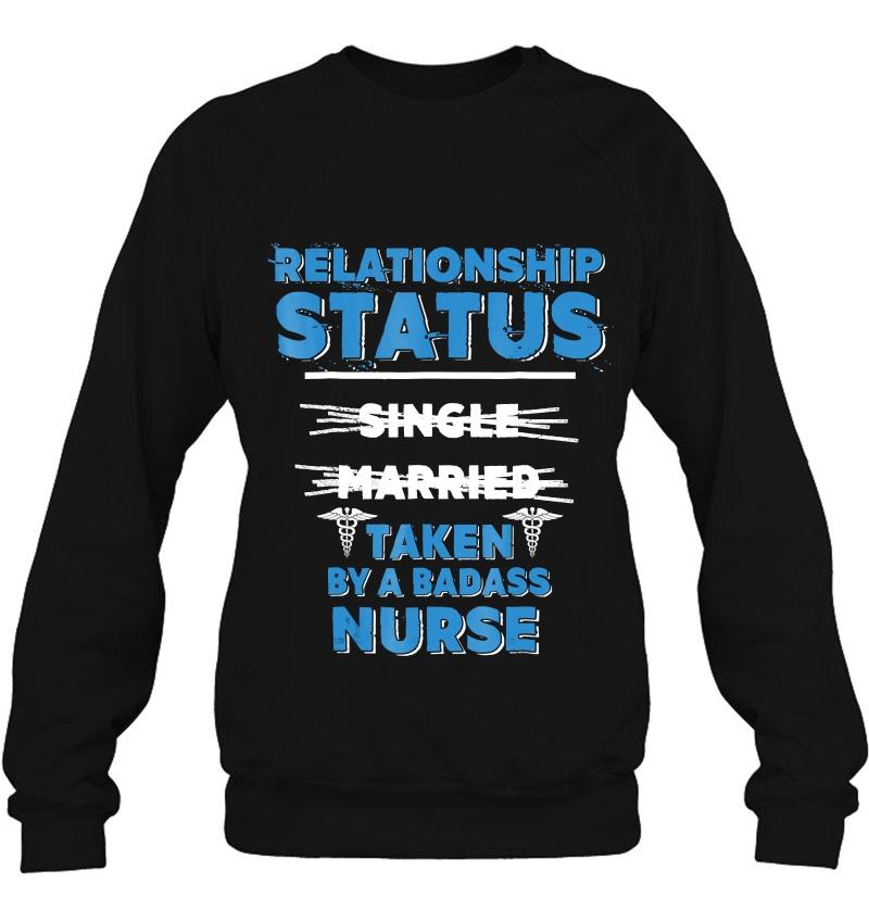 I'm Taken By A Badass Nurse Nursing Couple Mugs
