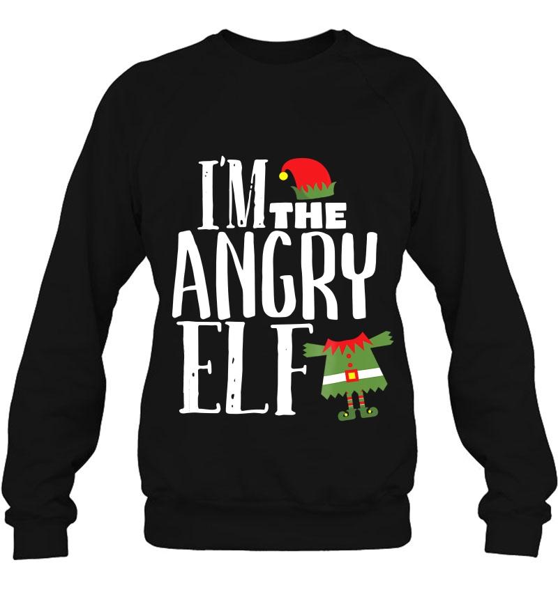 I'm The Angry Elf Matching Family Group Christmas Mugs