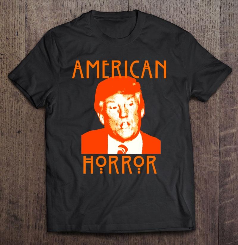 Donald Trump American Horror Slim Fit Shirt