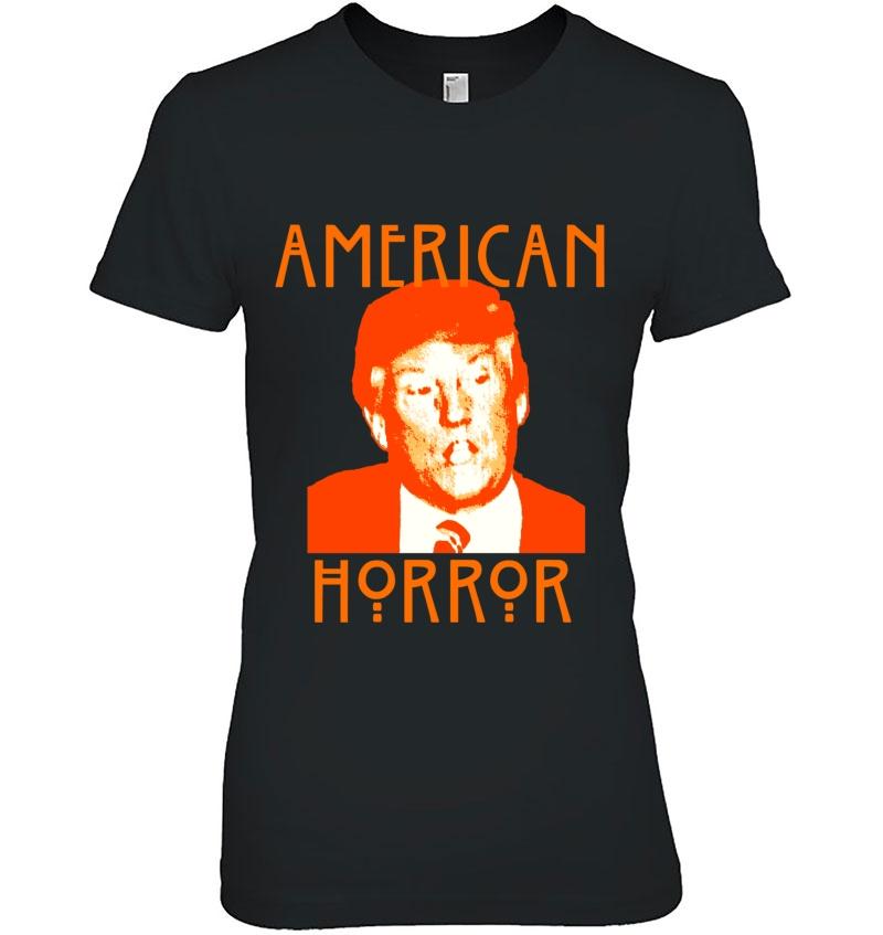 Donald Trump American Horror Slim Fit Hoodie
