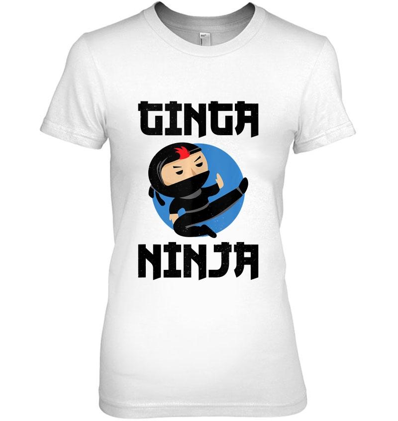 GINGER NINJA T SHIRT