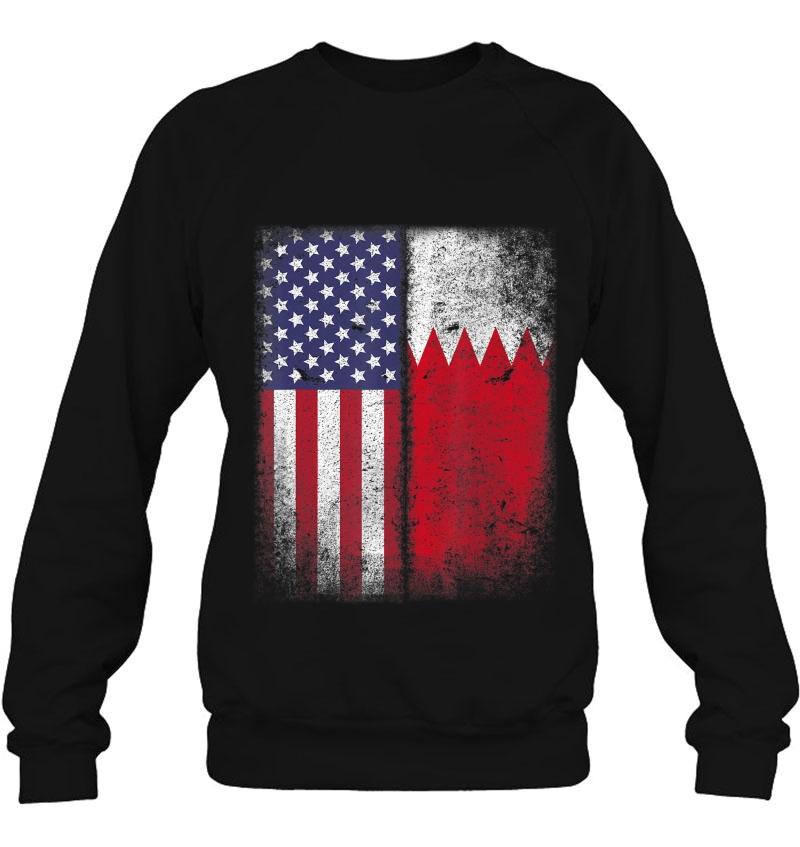 Bahraini American Flag Bahrain Usa America Mugs