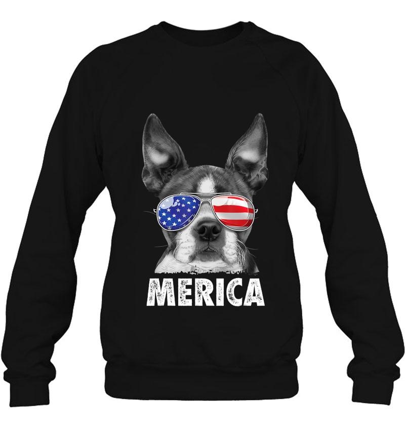 Boston Terrier 4Th Of July Merica Men Women Usa Flag Mugs